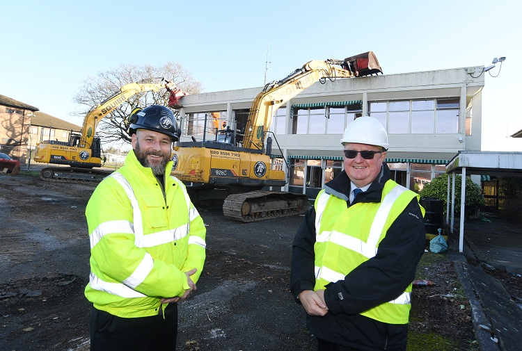 Demolition programme marks next stage in Stoneleigh Park's transformation
