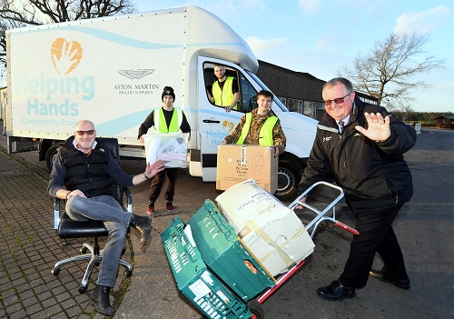 Stoneleigh Park Gives Charity A Second Helping Hand